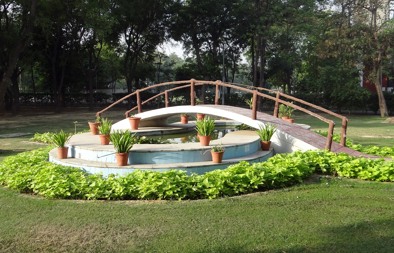 A Park in Ghaziabad