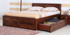 A Modular Bed - Image credits to pepperfry.com