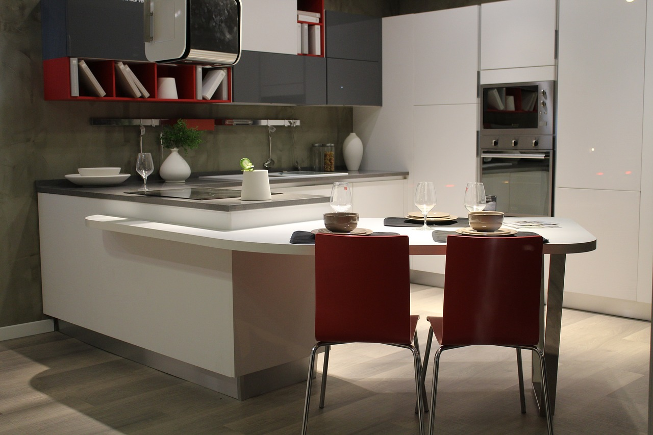 Modular Open Kitchen Pictures by HappyLocate