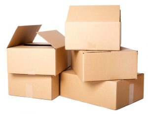 Canton boxes used by packers and movers